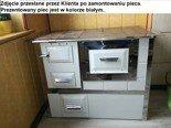 92238157 Kuchnia węglowa 9,5kW Monika (kolor: biały)
