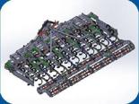 95247929 Agregat uprawowy U 382 składany hydraulicznie (szerokość robocza: 4,5 m, liczba zębów: 45, zapotrzebowanie mocy: 100 KM)