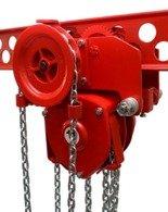9588155 Wciągnik łańcuchowy przejezdny WŁ-05P (udźwig: 0,5 T, wysokość podnoszenia: 3m)