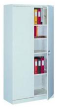99551696 Szafa biurowa 1,0mm, 2 drzwi, 4 półki, skrytka (wymiary: 1990x1200x435 mm)
