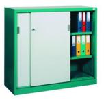 99551711 Szafa biurowa 1,0mm, 2 drzwi, 2 półki (wymiary: 1040x1200x435 mm)