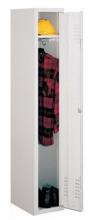 99552148 Szafka ubraniowa 0,8mm, zamek na kłódkę, 1 drzwi (wymiary: 1800x300x490 mm)