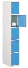 99552293 Szafka ze schowkami 0,8-1,0mm, 5 drzwi (wymiary: 1800x400x490 mm)