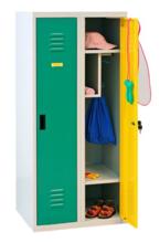 99552323 Szafka dla przedszkolaków, 2 drzwi, wersja lux (wymiary: 1350x600x500 mm)