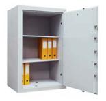 99552662 Sejf gabinetowy dwupłaszczowy 0 klasy, 2 półki, 1 drzwi (wymiary: 1000x540x435 mm)