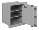 99552692 Sejf ścienny I klasy, 2 półki, 1 drzwi (wymiary: 494x504x378 mm)