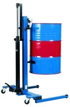 99724854 Wózek podnośnikowy ręczny do beczek GermanTech FL 300 A (udźwig: 300 kg)