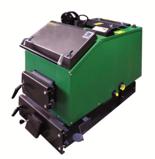 DOSTAWA GRATIS! 06652789 Kocioł załadunku ręcznego 10kW z czujnikiem temperatury spalin oraz sterownikiem (paliwo: węgiel, drewno, miał)