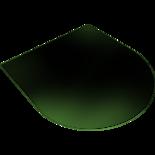 DOSTAWA GRATIS! 30015077 Podstawa szklana pod wklad wolnostojący ATHINA 1000x900mm