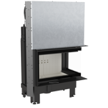 DOSTAWA GRATIS! 30055014 Wkład kominkowy 10kW MBM BS Gilotyna (prawa boczna szyba bez szprosa, drzwi podnoszone do góry)
