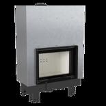 DOSTAWA GRATIS! 30055016 Wkład kominkowy 10kW MBM Gilotyna (szyba prosta, drzwi podnoszone do góry)