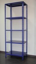 DOSTAWA GRATIS! 43364858 Regał metalowy magazynowy, 6 półek (wymiary: 3000x900x800 mm, nośność półki: 150 kg)