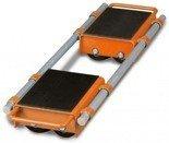 DOSTAWA GRATIS! 44340166 Podwójne rolki transportowe Unicraft VTR 6 (udźwig: 6 t)