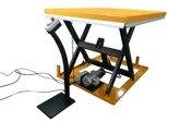 DOSTAWA GRATIS! 44366757 Elektryczny stół warsztatowy podnośny nożycowy (udźwig: 1000kg, wysokość podnoszenia: 990mm)