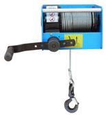 DOSTAWA GRATIS! 44929816 Ręczny wciągnik linowy z przekładnią ślimakową Tractel® CAROL™ TS2000 (bez liny, udźwig: 2000 kg)
