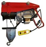 DOSTAWA GRATIS! 55564736 Wciągarka budowlana elektryczna ze zdalnym sterowaniem (udźwig: 800 kg, długość liny: 25m)