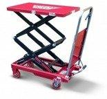 DOSTAWA GRATIS! 62666893 Wózek platformowy nożycowy (udźwig: 150 kg, wymiary platformy: 700x450 mm)