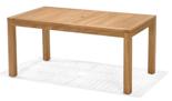 DOSTAWA GRATIS! 99855618 Stół prostokątny z drewna tekowego Rinjani 160x90