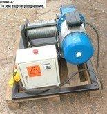 Elektryczna wciągarka linowa (siła uciągu: 640/475  kg, długość liny: 160m, moc: 2,2kW)
