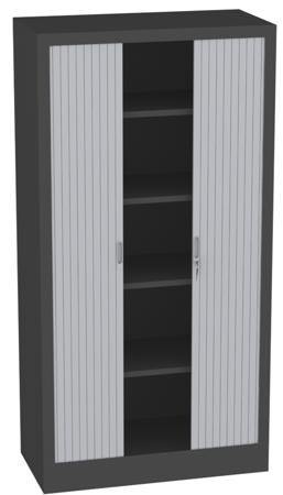 00150692 Szafa żaluzjowa, 4 półki (wymiary: 1950x1000x500 mm)