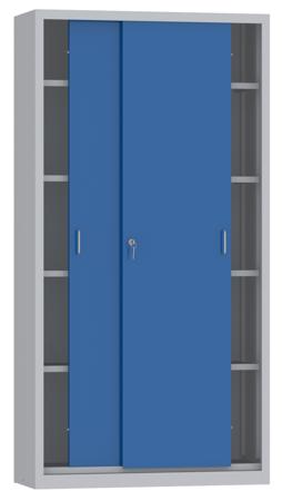 00150804 Szafa przesuwna, 4 półki (wymiary: 1950x1000x400 mm)