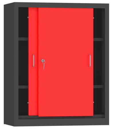 00150810 Szafa przesuwna niska, 2 półki (wymiary: 1000x800x400 mm)