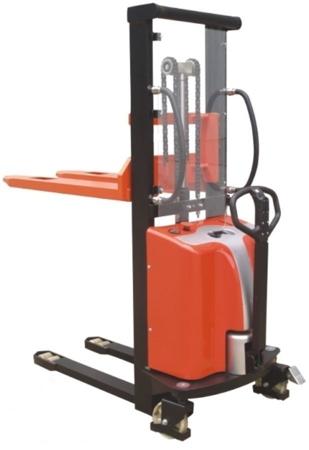 00546291 Wózek podnośnikowy półelektryczny (udźwig: 1500 kg, min./max. wysokość wideł: 85/3500 mm)