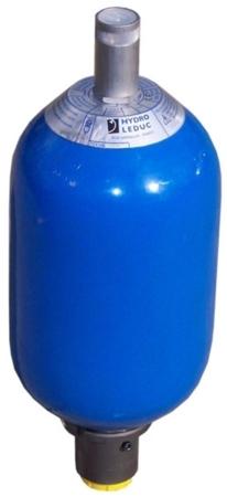 01538867 Akumulator hydrauliczny pęcherzowy Hydro Leduc ABVE 4 (objętość azotu: 3,7 l/dm³, maksymalne ciśnienie: 350 bar)