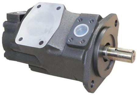 01539183 Pompa hydrauliczna łopatkowa dwustrumieniowa B&C BQ42G3517 CB01 (objętość geometryczna: 112,7+55,2 cm³, maksymalna prędkość obrotowa: 2400 min-1 /obr/min)