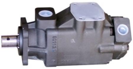 01539210 Pompa hydrauliczna łopatkowa dwustrumieniowa B&C HQ31G2411 (objętość geometryczna: 78,3+36,4 cm³, maksymalna prędkość obrotowa: 2500 min-1 /obr/min)