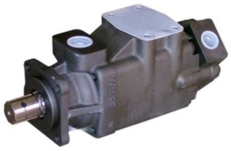 01539214 Pompa hydrauliczna łopatkowa dwustrumieniowa B&C HQ31G2808 (objętość geometryczna: 91,2+27,4 cm³, maksymalna prędkość obrotowa: 2500 min-1 /obr/min)