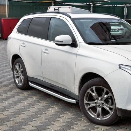 01655738 Stopnie boczne - Mitsubishi Outlander 2012- (długość: 171 cm)