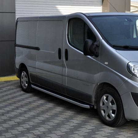 01655754 Stopnie boczne - Opel Vivaro 2014+ long (długość: 252 cm)