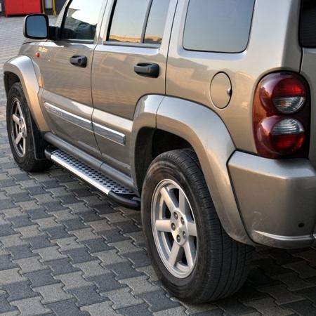 01656020 Stopnie boczne - Jeep Commander (długość: 182 cm)