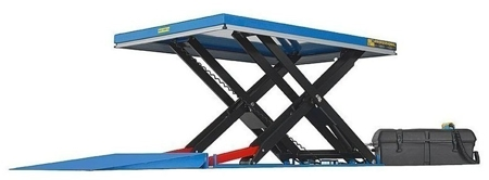01843679 Podnośnik, podest nożycowy EHL2-20/300-2C (udźwig: 2000 kg, wymiary: 2200x1200mm, skok: 3000mm, moc: 2,3kW)