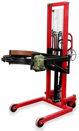 03010019 Wózek podnośnikowy ręczny do beczek (udźwig: 400 kg)
