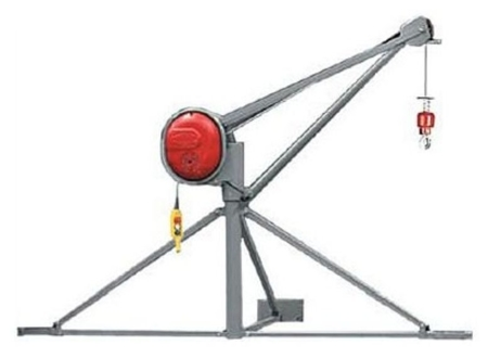 08115162 Wciągarka elektryczna linowa budowlana Camac Minor Millennium Pluma (udźwig: 500 kg)