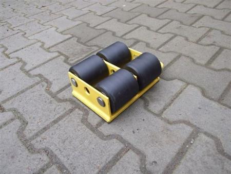 12235591 Wózek stały 4 rolkowy, rolki: 4x stal (nośność: 8 T)