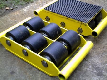 12235594 Wózek stały 6 rolkowy, rolki: 6x stal (nośność: 12 T)