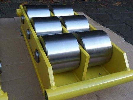 12235595 Wózek stały 6 rolkowy, rolki: 6x stal (nośność: 50 T)