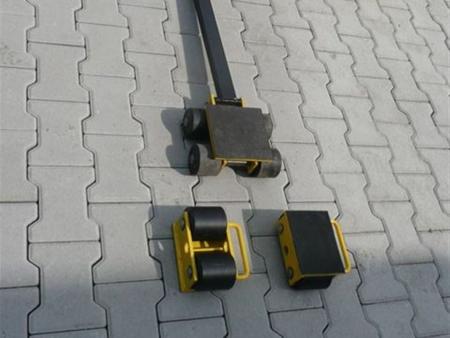 12235617 Zestaw wózków, rolki: 8x stal (nośność: 10 T)