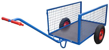 13340562 Wózek dwukołowy ręczny do ogrodu (nośność: 200 kg)