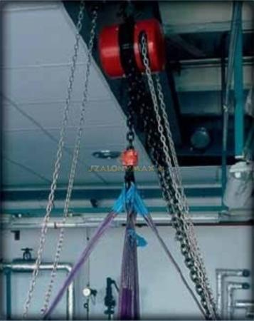 2202695 Wciągnik łańcuchowy z przekładnią planetarną Z100/1.0t (wysokość podnoszenia: 5m, udźwig: 1 T)
