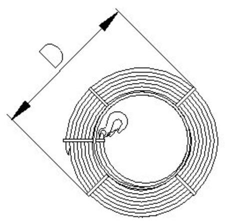 2203114 Wciągnik linowy 30.11/3.2t (długość liny: 20m, udźwig: 3,2 T)