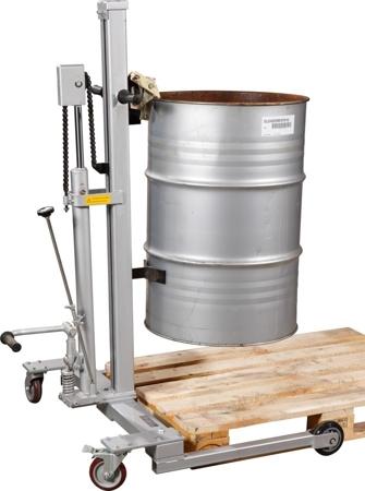 31026276 Wózek do beczek hydrauliczny (udźwig: 300 kg)