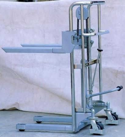 310499 Wózek podnośnikowy z wyciągarką  (udźwig: 400 kg)