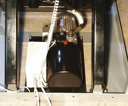 3109768 Stół podnośny elektryczny HW500L (udźwig: 500 kg)