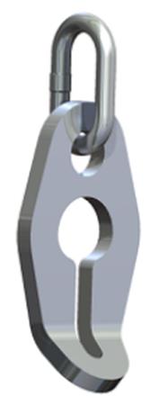 33954996 Skarcacz nierdzewny klasy VLWI 16 (udźwig: 6,3 T)
