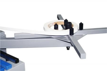 44349979 Okleiniarka Holzmann KAM 115E (zakres grubości obrabianego elementu: 10 - 45 mm, wymiary stołu: 2300 x 800 mm)