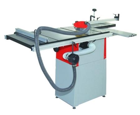 44350019 Tarczówka stolarska Holzmann TS 200 (max. średnica tarczy: 200 mm, wymiary stołu: 535x 400+600 mm)